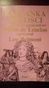 Kapłanka miłości: Na podstawie pamiętników Ninon de Lenclos - Leo Belmont