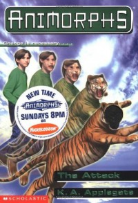 Animorphs #26: The Attack - K.A. Applegate