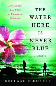 The Water Here Is Never Blue: A Memoir - Shelagh Plunkett