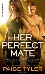 Her Perfect Mate (X-Ops) by Tyler, Paige (2014) Mass Market Paperback - Paige Tyler