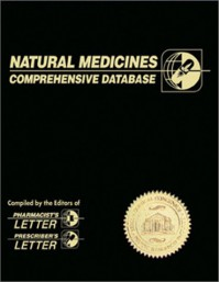 Natural Medicines Comprehensive Database - Therapeutic Research Faculty Staff, Jeff M. Jellin