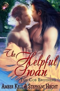 The Helpful Swan (The Cob Brothers, #3) - Amber Kell,  Stephani Hecht