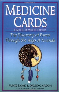 Medicine Cards: The Discovery of Power Through the Ways of Animals - Jamie Sams, Angela C. Werneke, David    Carson
