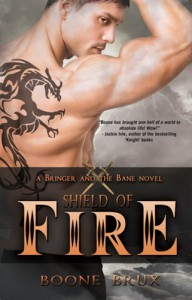 Shield of Fire (Bringer and the Bane Novel) - Boone Brux