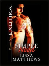 Simple Need - Lissa Matthews