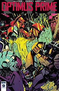 Optimus Prime #9 - John Barber, Kei Zama