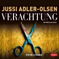 Verachtung (Carl Mørck 4) - Jussi Adler-Olsen, Wolfram Koch, Der Audio Verlag