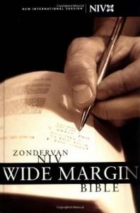 Zondervan NIV Wide Margin Bible - Zondervan Publishing