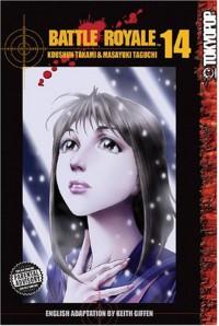 Battle Royale, Vol. 14 - Koushun Takami, Masayuki Taguchi, Tomo Iwo, Keith Giffen