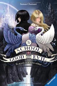 The School for Good and Evil, Band 1: Es kann nur eine geben (HC - Jugendliteratur ab 12 Jahre) - Soman Chainani, Ilse Rothfuss, Iacopo Bruno