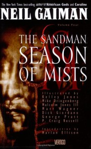The Sandman, Vol. 4: Season of Mists  - Neil Gaiman, Kelley Jones, Matt Wagner, Mike Dringenberg