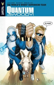 Quantum and Woody, Vol. 1: The World's Worst Superhero Team - James Asmus, Jody LeHeup, Tom Fowler