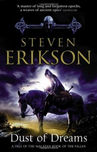Dust of Dreams (Malazan Book of the Fallen, #9) - Steven Erikson