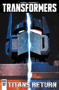Transformers (2011-) #57 (Transformers: Robots In Disguise (2011-)) - John Barber, Livio Ramondelli