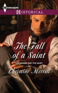 The Fall of a Saint (Harlequin HistoricalThe Sinner and the Saint) - Christine Merrill