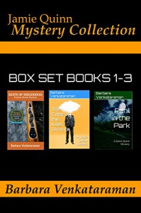 Jamie Quinn Mystery Collection: Box Set Books 1-3 - Barbara Venkataraman