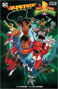 Justice League/Power Rangers - Tom Taylor, Stephen Byrne, Carolin Hidalgo