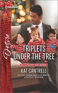 Triplets Under the Tree (Billionaires and Babies) - Kat Cantrell