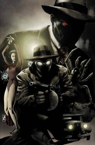 Spider-Man Noir: Eyes Without a Face - David Hine, Fabrice Sapolsky, Carmine Di Giandomenico
