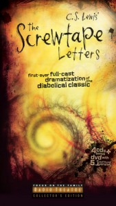 The Screwtape Letters: First Ever Full-Cast Dramatization of the Diabolical Classic [With DVD] - C.S. Lewis, Dave Arnold, Focus on the Family