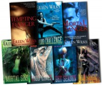 Eileen Wilks Collection The World of the Lupi 7 Books Set Pack RRP: £55.93 (Blood Lines, Blood Challenge, Night Season, Tempting Danger, Mortal Sins, Mortal Danger, Blood Magic) - Eileen Wilks