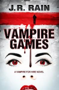 Vampire Games (Vampire for Hire #6) - J.R. Rain