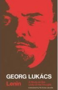 Lenin: A Study on the Unity of His Thought - György Lukács, Nicholas Jacobs