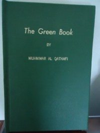 The Green Book - Muammar al-Gaddafi