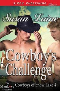 Cowboy's Challenge - Susan Laine