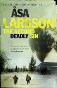 The Second Deadly Sin: A Rebecka Martinsson Investigation - Åsa Larsson