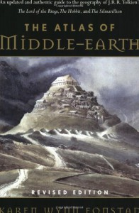 The Atlas of Middle-Earth - Karen Wynn Fonstad
