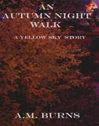An Autumn Night Walk - A.M. Burns