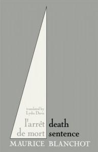 Death Sentence - Maurice Blanchot, Lydia Davis