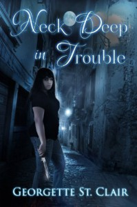 Neck Deep In Trouble: A BBW Vampire Urban Fantasy - Georgette St. Clair