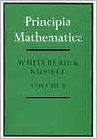 Principia Mathematica, 3 Vols - Bertrand Russell, Alfred North Whitehead