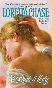 Not Quite A Lady (Carsington Brothers, #4) - Loretta Chase
