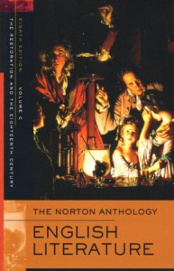 The Norton Anthology of English Literature, Volume C: The Restoration and the Eighteenth Century -