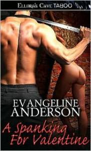 A Spanking for Valentine - Evangeline Anderson