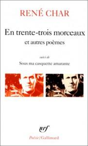 En Trente Trois Sur La - René Char
