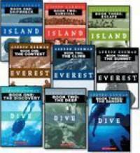 Three Complete Gordon Korman Trilogies: Dive 1-3, Everest 1-3 and Island 1-3 (9-Book Set) - Gordon Korman