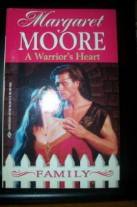 A Warrior's Heart (The Warrior Series, Book 1) (Harlequin Historical #118) - Margaret Moore