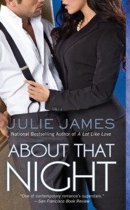 About That Night (FBI, # 3) - Julie James