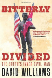 Bitterly Divided: The South's Inner Civil War - David  Williams