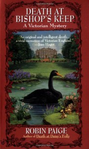 Death at Bishop's Keep (Robin Paige Victorian Mysteries, No. 1) - Robin Paige