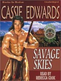 Savage Skies (MP3 Book) - Rebecca  Cook, Cassie Edwards