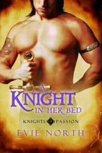 A Knight In Her Bed (Knights of Passion) - Evie North