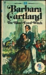 The Blue-Eyed Witch - Barbara Cartland