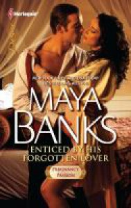 Enticed by His Forgotten Lover (Mills & Boon Largeprint Desire) - Maya Banks