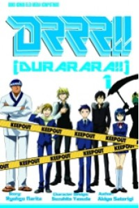 DRRR!! Durarara!! 1 - Ryohgo Narita, 成田 良悟, Akiyo Satorigi, 茶鳥木 明代, Suzuhito Yasuda, ヤスダ スズヒト