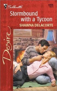 Stormbound with a Tycoon (Silhouette Desire, #1356) - Shawna Delacorte
